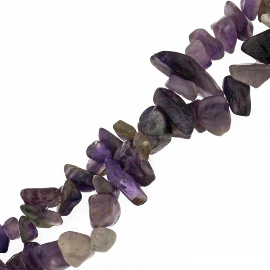 AMETHYST CHIPS BEADS 8-15mm ~40cm