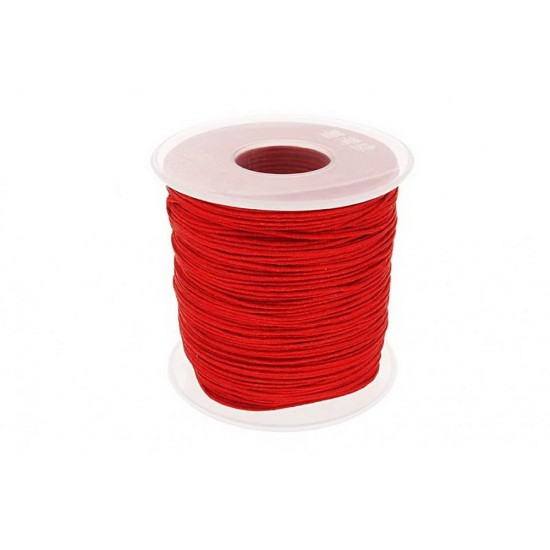 SYNTHETIC CORD MACRAME 100 meter - 1,0mm RED