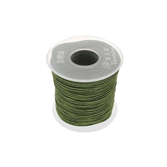 SYNTHETIC CORD MACRAME 100 meter - 1,0mm OIL COLOUR