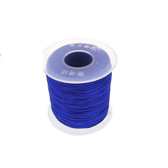 SYNTHETIC CORD MACRAME 100 meter - 1,0mm BLUE