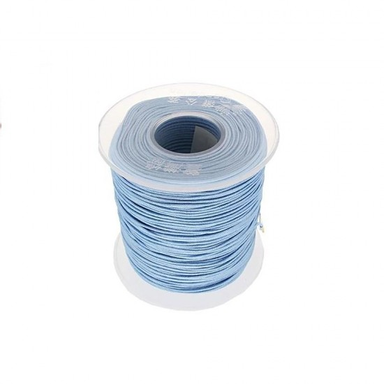 SYNTHETIC CORD MACRAME 100 meter - 1,0mm LIGHT BLUE