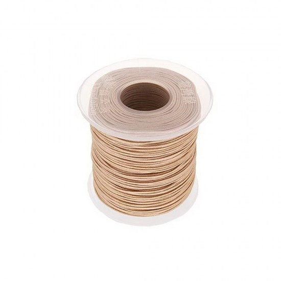 SYNTHETIC CORD MACRAME 100 meter - 1,0mm BEIGE