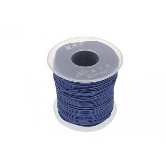 SYNTHETIC CORD MACRAME 100 meter - 1,0mm DARK BLUE