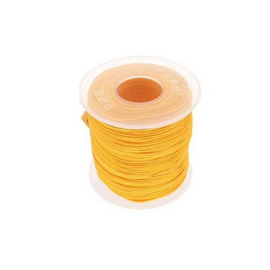SYNTHETIC CORD MACRAME 100 meter - 1,0mm YELLOW