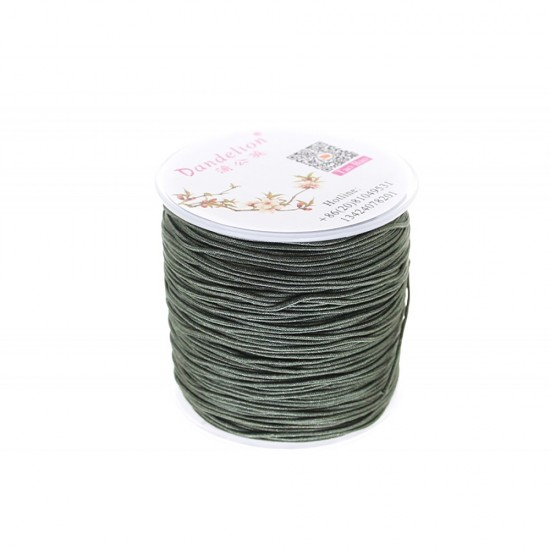 SYNTHETIC CORD MACRAME 100 meter - 1,0mm KHAKI