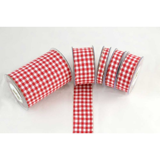 RIBBON RED & WHITE