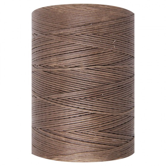 WAXED CORD 1mm / 500 meters CIOCCOLATO