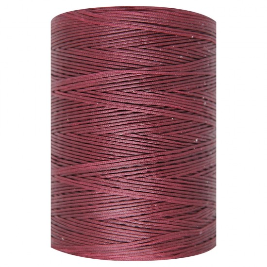 WAXED CORD 1mm / 500 meters BORDEAUX