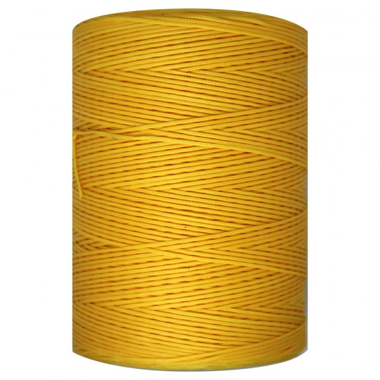 WAXED CORD 1mm / 500 meters GIALLO (38)