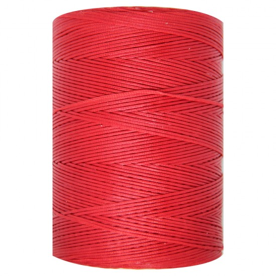 WAXED CORD 1mm / 500 meters ROSSO (550)